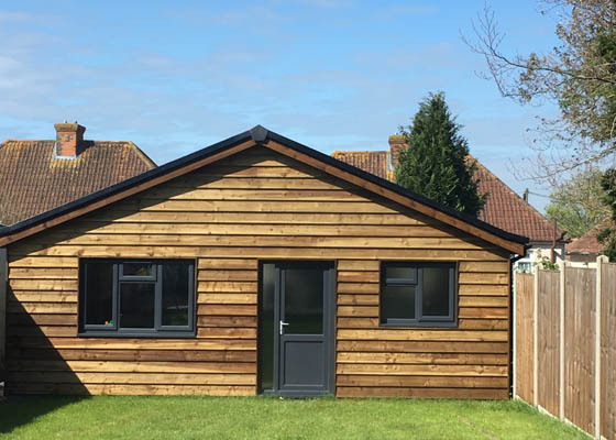 Photo of Harwoods Carpentry and Building Salisbury Wiltshire wooden cladding