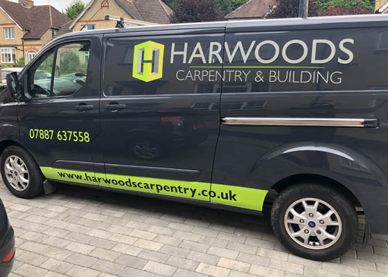 Photo of Harwoods Carpentry and Building Salisbury Wiltshire Vehicle