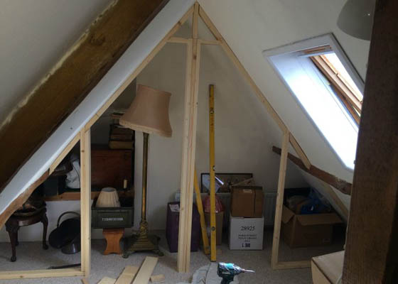 Photo of Harwoods Carpentry and Building Salisbury Wiltshire loft conversion