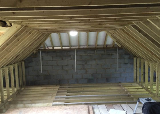 Photo of Harwoods Carpentry and Building Salisbury Wiltshire wooden joists