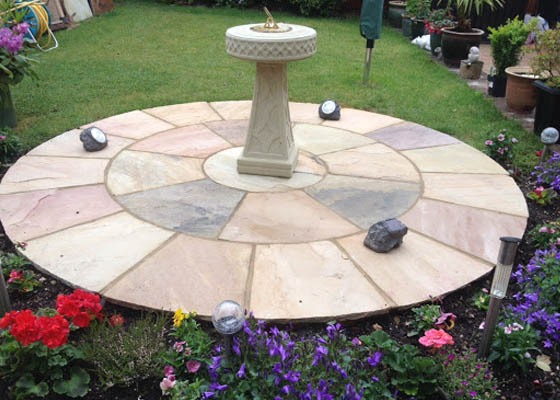 Photo of Harwoods Carpentry and Building Salisbury Wiltshire indian sandstone paving