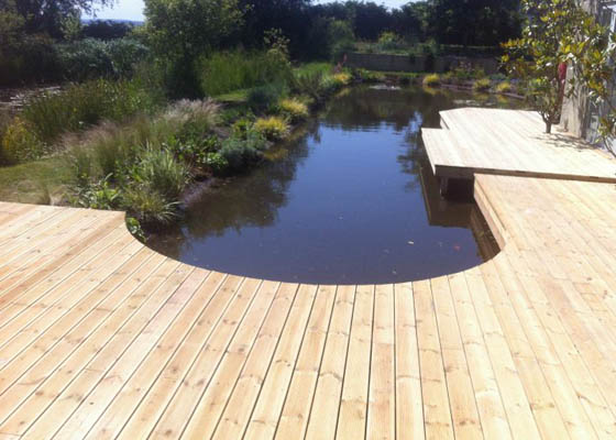 Photo Harwoods Carpentry and Building Salisbury Wiltshire hardwood decking
